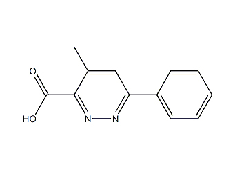 4-Methyl-6-phenylpyridazine-3-carboxylic Acid